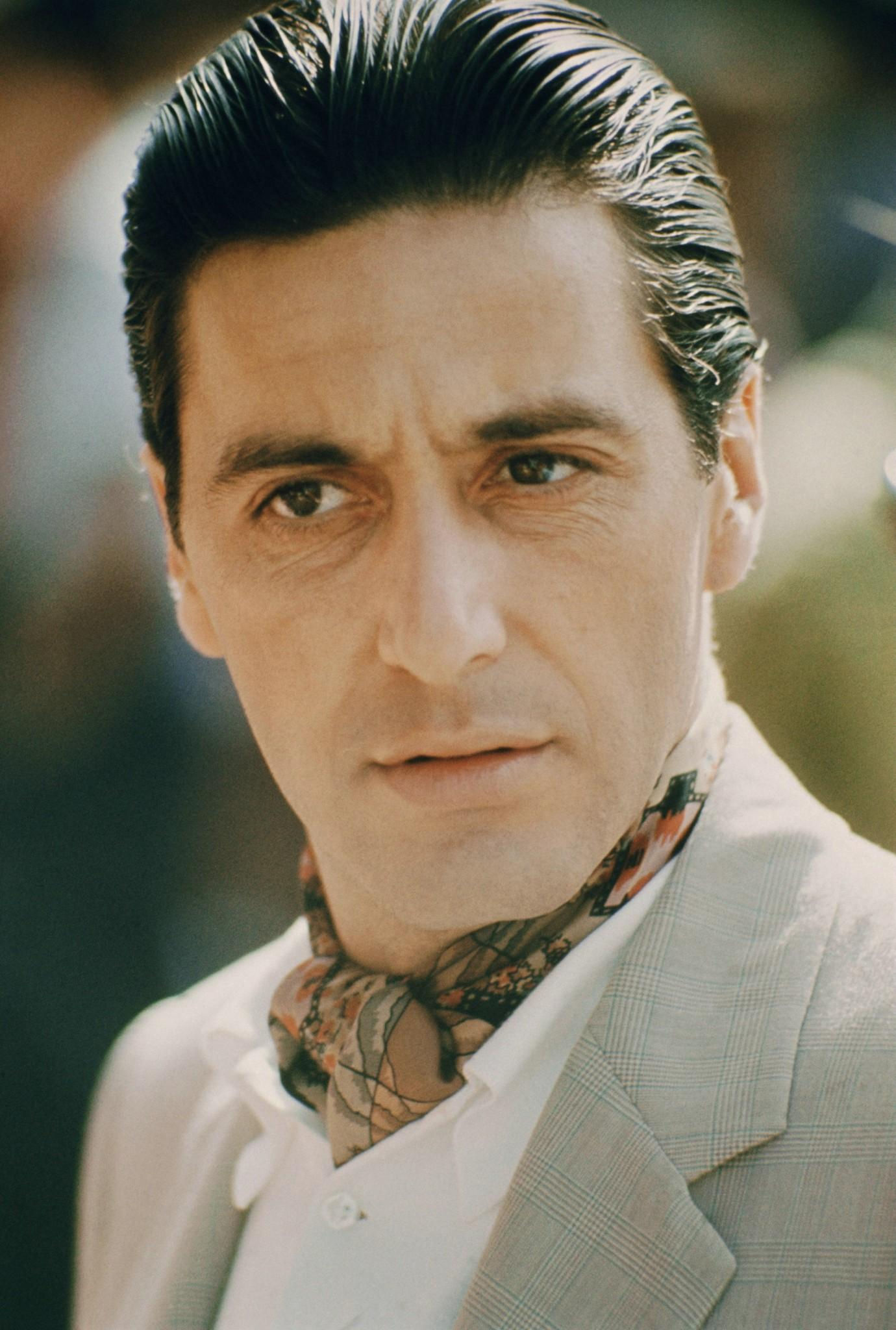 Michael Corleone's Tan Check Suit and Day Cravat in Havana ... Al Pacino