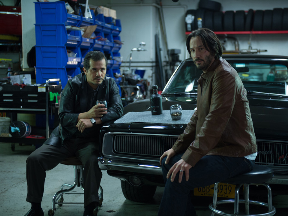 John Wick's Brown Leather Jacket and Ford Mustang | BAMF Style