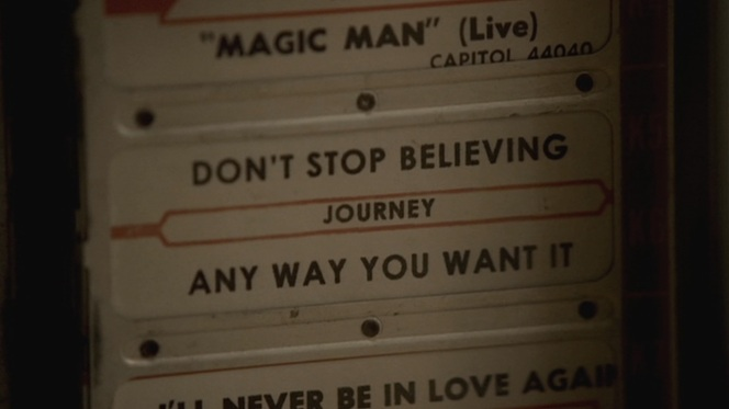 "Perhaps also somewhat significant is the fact that ""Don't Stop Believin'"" was released in 1981, the year after Meadow was born and Tony ""made his bones"" in the mob with his first killing."