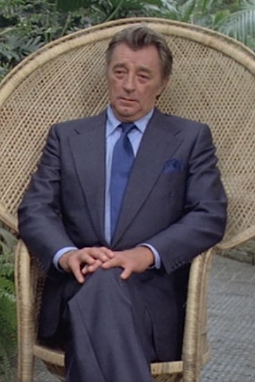 a8c9e1332cf Mitchum as Marlowe: A Blue Suit in The Big Sleep | BAMF Style