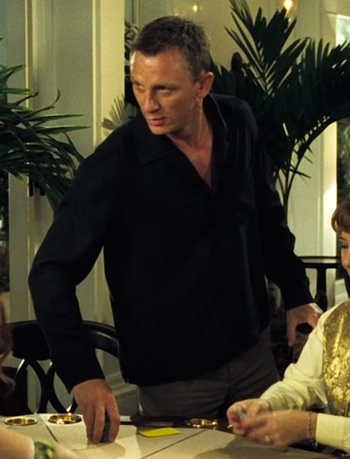 Daniel Craig as James Bond in Casino Royale (2006).