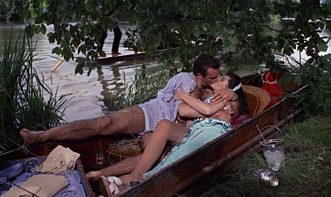 One can very easily understand why Bond is such a big fan of punting.