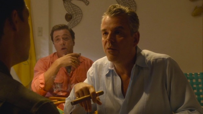 No matter what episode or context, Ben is rarely found without a cigar, a poker table, and his dear friend Bel Jaffe nearby.