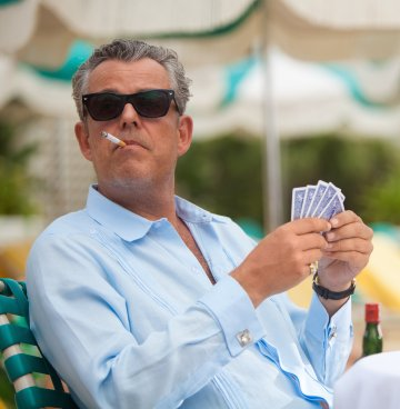 "Danny Huston as Ben Diamond in ""Feeding Frenzy"", episode 1.02 of Magic City (2012-2013)."