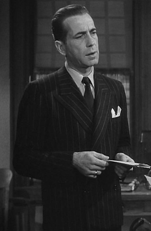 1de6749143d Humphrey Bogart as Philip Marlowe in The Big Sleep (1946).