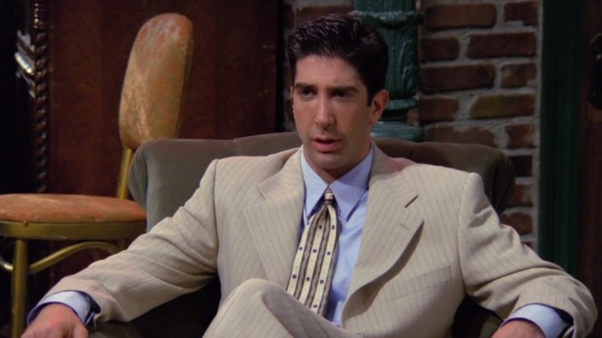 This is likely the only appearance that David Schwimmer will ever make on this blog.