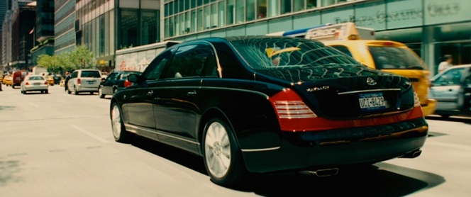 Van Loon's Maybach glides toward Chinatown to drop off Eddie.