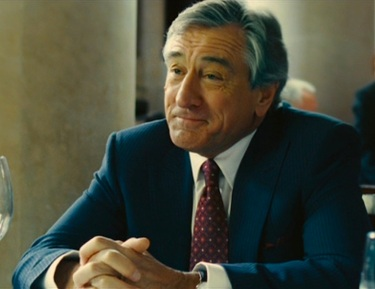 Robert De Niro as Carl Van Loon in Limitless (2011).