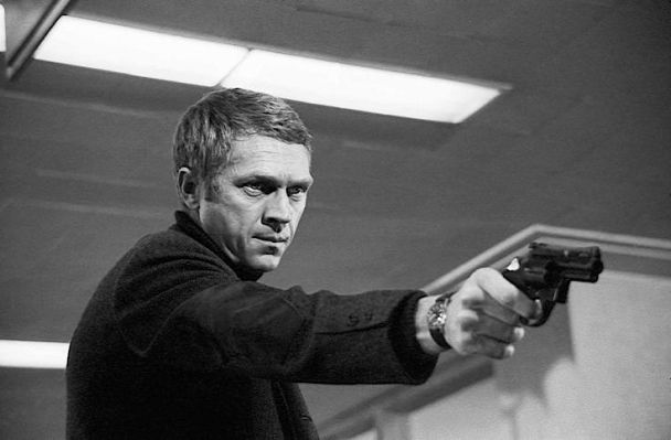 Bullitt delivers justice during the film's finale.
