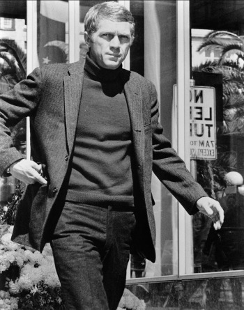 Steve McQueen as Bullitt (1968).