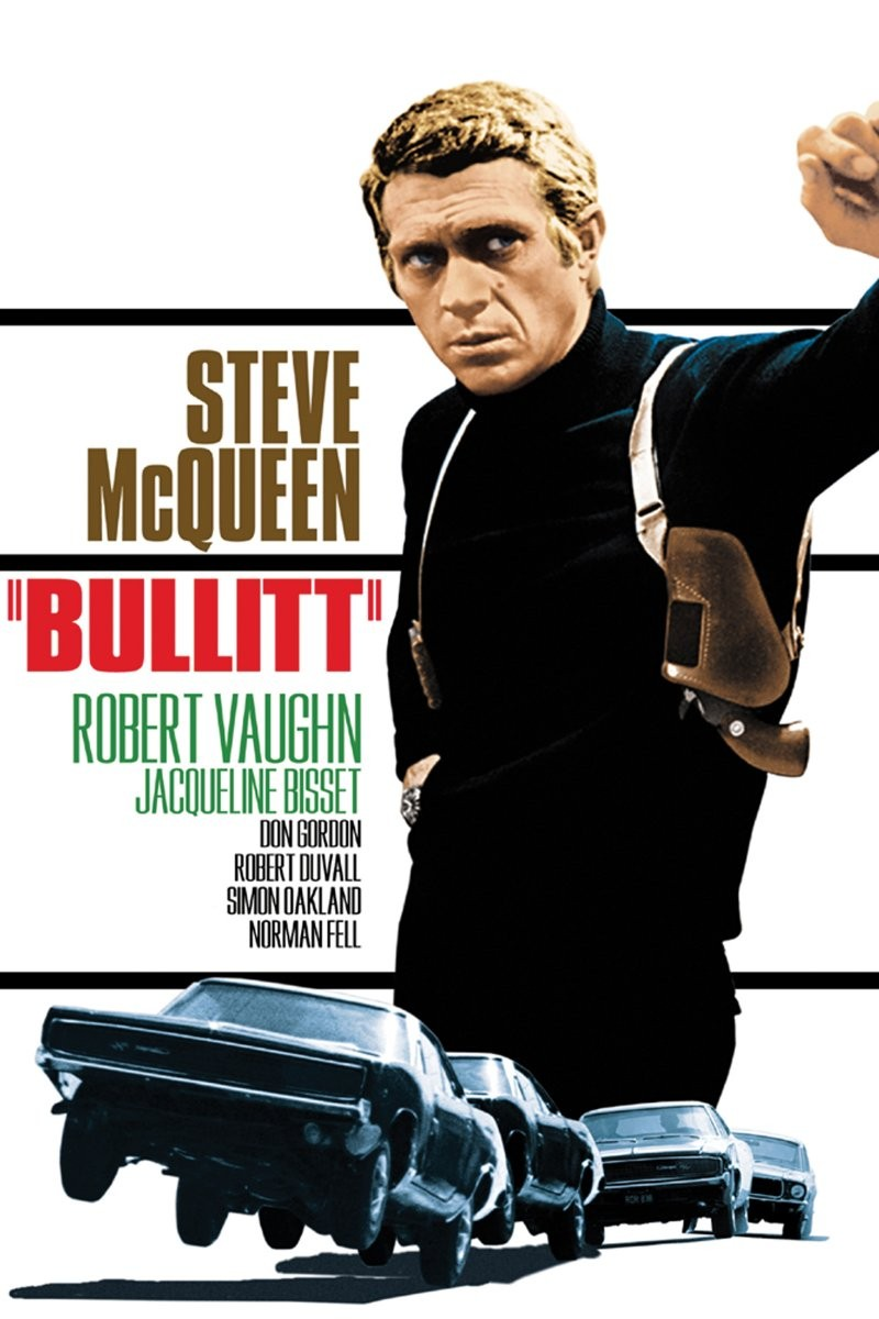 Image result for movie bullitt with steve mcqueen