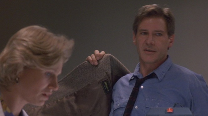 Dr. Richard Kimble's jacket manufacturer shares its name with Harrison Ford's oldest son. Hm.