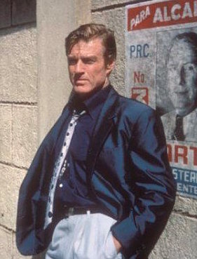 Robert Redford as Jack Weil in Havana (1990).