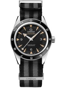 The Omega Seamaster 300 SPECTRE Limited Edition, introduced as a tie-in with the release of Spectre in 2015.
