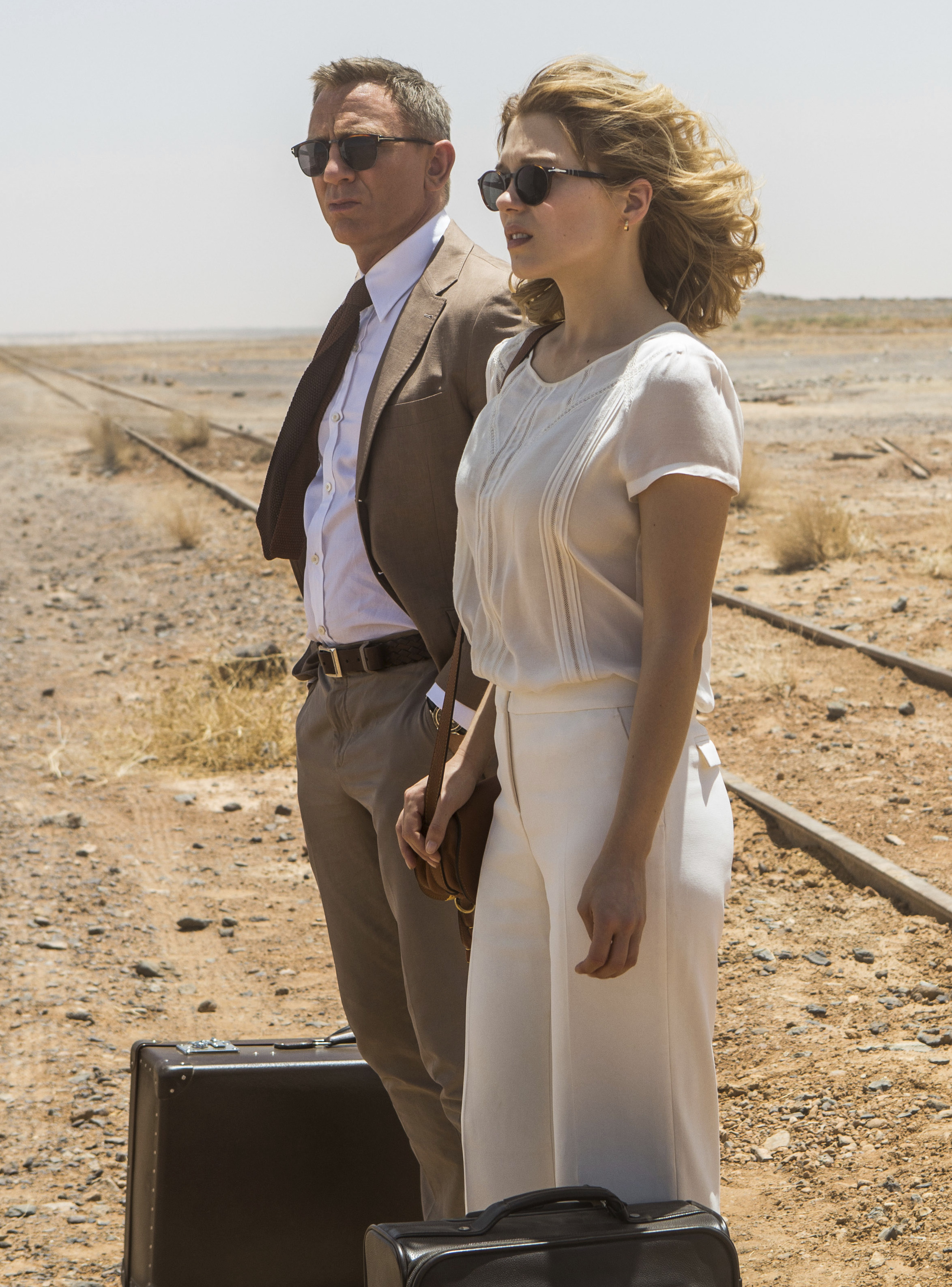 9bfd97a881ae Daniel Craig and Léa Seydoux as James Bond and Dr. Madeleine Swann