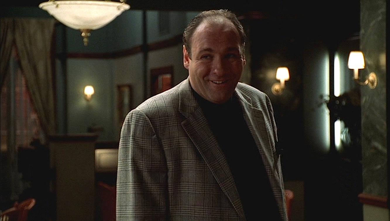 The Sopranos Tonys Brown Glen Urquhart Sportcoat Bamf Style