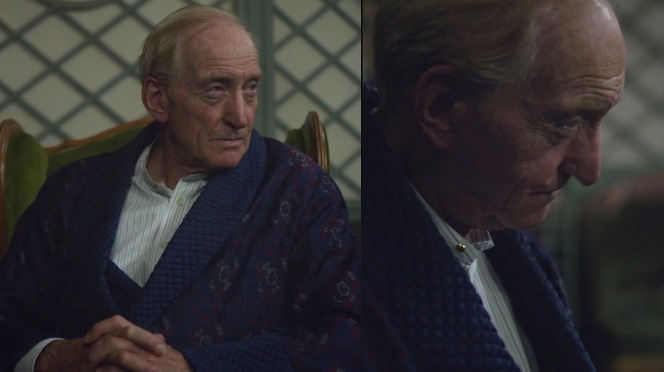 If only we got to see more of that badass dressing gown!