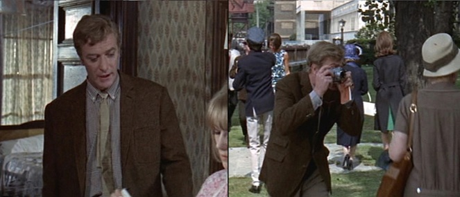 Alfie's wardrobe stays pretty consistent throughout the various stages of his on-screen life.
