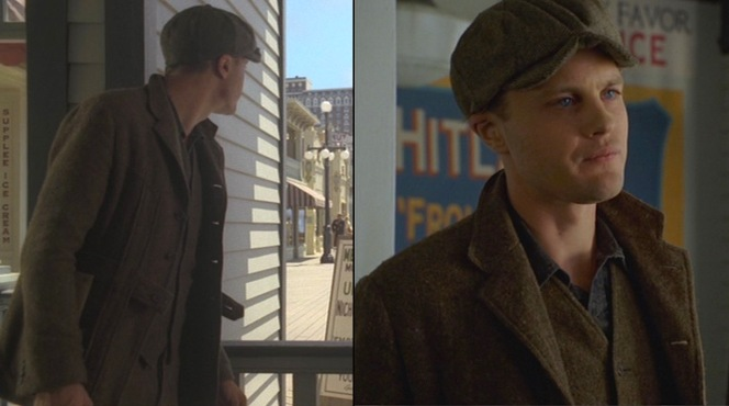 Jimmy stakes out the boardwalk in search of Nucky after a daring heist in the first episode.