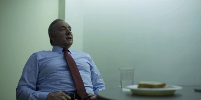 """Underwood makes the most of his shared """"down time"""" with Conway."""