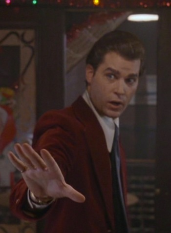 Ray Liotta as Henry Hill in Goodfellas (1990)