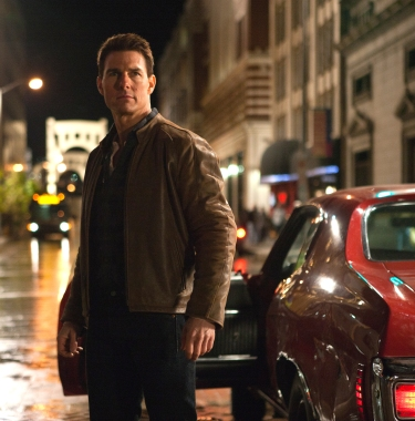 Tom Cruise as Jack Reacher in Jack Reacher (2012).