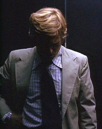 Robert Redford as Bob Woodward in All the President's Men (1976)
