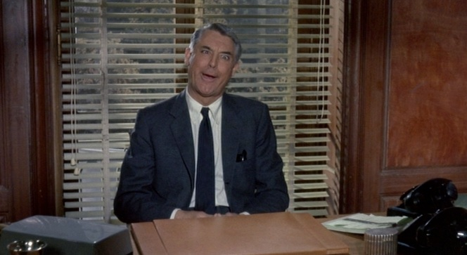 One of Cary Grant's less suave moments... and yet still charming.
