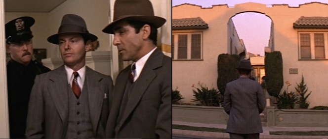 The smug uniformed officer behind Gittes is a real gem.