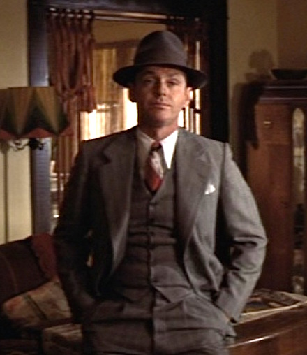 1f6f159f4 Chinatown – J.J. Gittes' Gray Striped Suit | BAMF Style