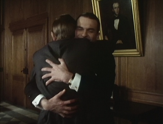"Reilly's tank watch is best seen as he embraces his pal Savinkov in ""After Moscow"" (Episode 9)."