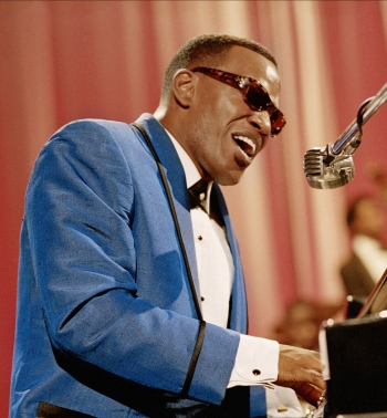 Jamie Foxx as Ray Charles in Ray (2004)