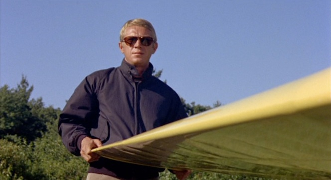 The thing about Steve McQueen is... you know he knew how cool he was.