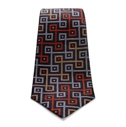 """""""The World is Not Enough Silk Tie"""", $190, Turnbull & Asser"""