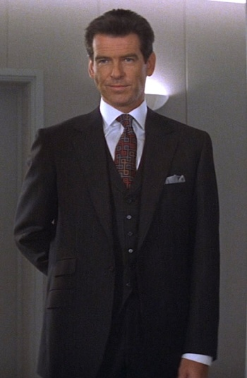 Pierce Brosnan as James Bond in The World is Not Enough (1999)
