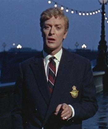 Michael Caine as Alfie Elkins in Alfie (1966)