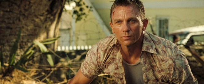Just as the Casino Royale Bond doesn't give a damn if his martini is shaken or stirred, he couldn't care less what you think about his shirt.