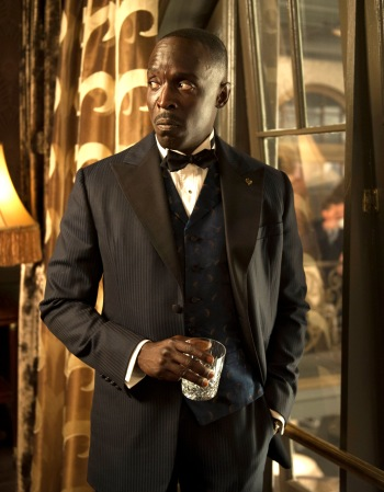 "Michael K. Williams as Albert ""Chalky"" White on <em>Boardwalk Empire</em> (Episode 4.08: ""The Old Ship of Zion"")"