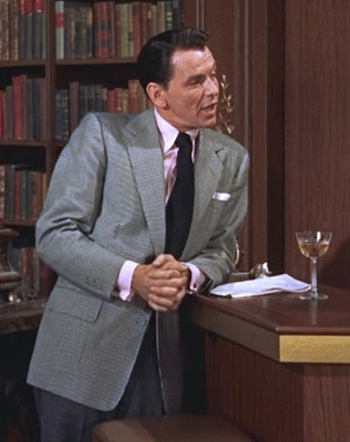Frank Sinatra as Mike Connor in High Society (1956)