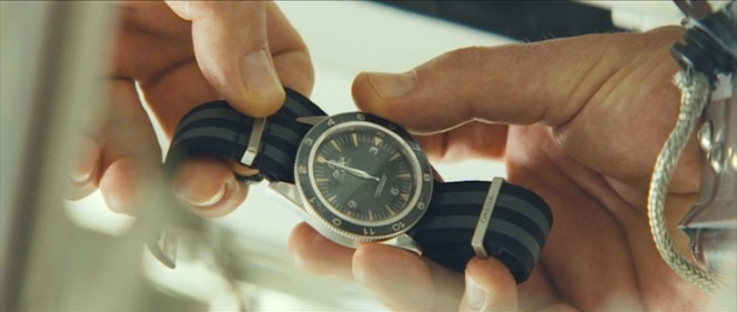 Now why would Blofeld let him keep his watch?