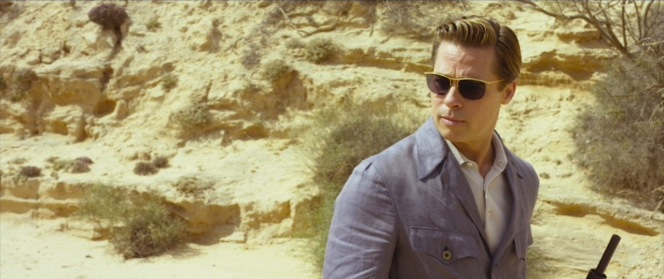 A fashion-forward Max Vatan sports his Nylor sunnies in the desert.