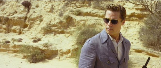 A fashion-forward Max Vatan sports his Nylor sunnies in the desert.