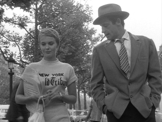 The youthful iconoclasm and energy exuded by Jean Seberg and Jean-Paul Belmondo strutting down the Champs-Élysées in Breathless became an iconic moment in the history of nouvelle vague.