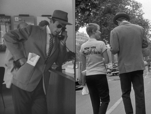 """The long stride, the oversize jacket bobbing above it. He's filmed to look big and broad-shouldered, but it's the fluidity of his stride and the harmony in his whole body that telegraph abundant confidence. Head tipped back, posture regal, he's a man brimming with self-assurance and vitality,"" wrote Sarah Kaufman, accurately capturing Belmondo's on-screen swagger in her 2010 Washington Post article."