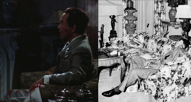 Much to the dismay of some viewers, I'm sure, Bugsy did not ignore the fact that Siegel's eye was shot out during his assassination.