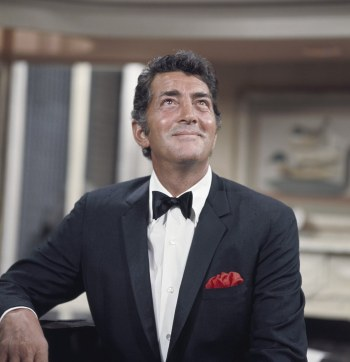 The luxurious dupioni silk was Dino's suiting of choice when it came to his trademark dinner jackets.