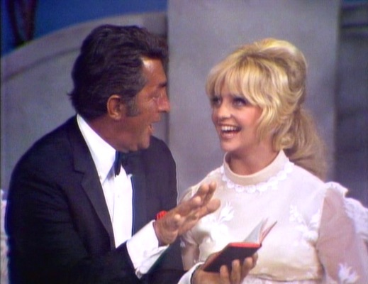 Dean Martin chats with guest Goldie Hawn in the fifth season premiere on September 18, 1969, discussing the virtues of dumb pride. (Link)