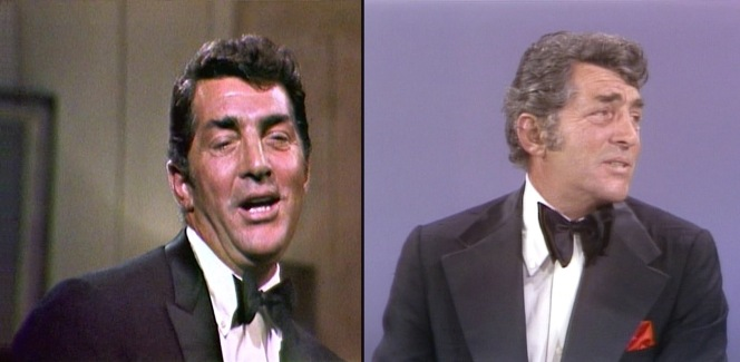 Dino's bow tie grew from a timeless butterfly-style in 1965 to a then-fashionable jumbo butterfly by the mid-'70s.
