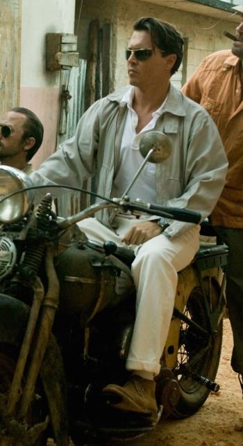 Johnny Depp as Paul Kemp in The Rum Diary (2011)