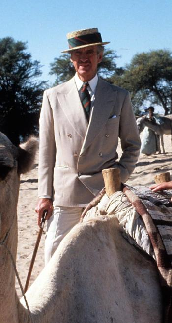 David Niven as Colonel Race in Death on the Nile (1978)